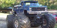 Blue GMC