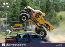Full-boar-monster-truck-jumping-left-3-inwood-ontario-canada-A0K6DR