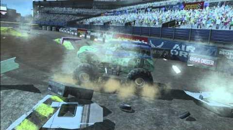 Monster Jam - Monster Jam- Path of Destruction - Grave Digger Monster Truck Highlights