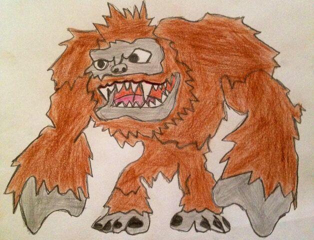 File:Fanart Bigfoot.jpg