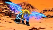 Hyper Kingblade Plasma Barrage