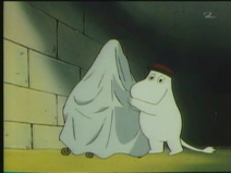 Moominpappa with the Time Machine