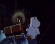 Moominpappa Took Out his Gun