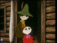 Little My and Snufkin