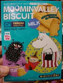 Moominvalley biscuits milk