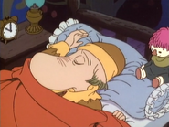 Hemulen sleeps.