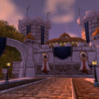 The gates of Stratholme, before the Culling.