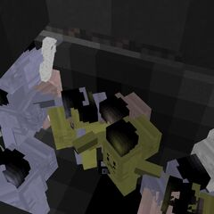 The same scene without the hyperglass block.