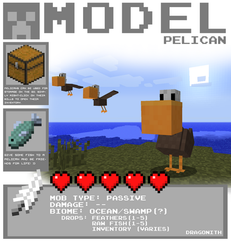 File:Minecraft pelican by dragonith-d4eh88r.png