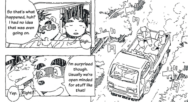 File:Tatsuk in the comic and Truck.png