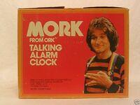 Mork from Ork Talking Alarm Clock 05 Box Top