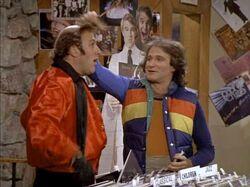 1x19 Mork's Mixed Emotions Bill Kirchenbauer Robin Williams