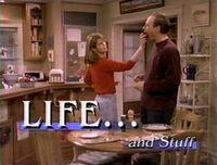 Life... and Stuff Logo Screen Pam Dawber Rick Reynolds