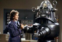 Dr Morkenstein Robin Williams Robbie the Robot