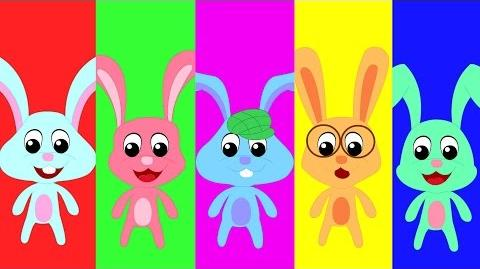 Five Little Rabbits