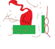 Flamingo toy