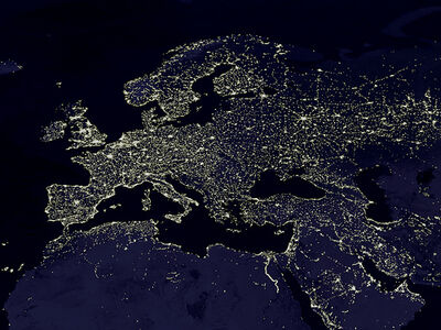 Europe-from-space