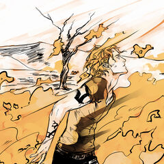 Jace burning with his <a href=