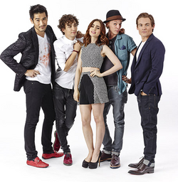 Mortal Instruments Cast