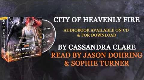CITY OF HEAVENLY FIRE Audiobook Excerpt