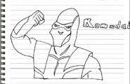 Komodai drawing