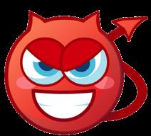 Image result for devil emoticon