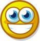Profile mood cheerful
