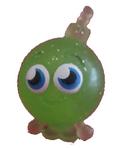 Cherry Bomb figure glitter green