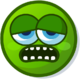 Profile mood zonked