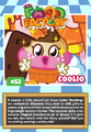 Collector card food factory coolio