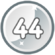 Level 44 icon