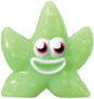 Fumble figure scream green