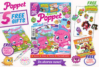 Poppet Mag issue 1 packaging