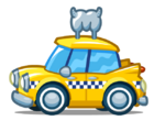 Mag Mini Yellow taxi
