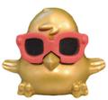 DJ Quack figure gold