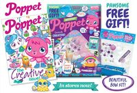 Poppet Mag issue 2 packaging