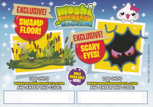 Issue 18 Code Card Back