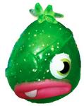 Pirate Pong figure glitter green