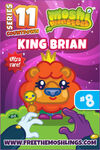 Countdown card s11 king brian