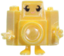 Holga figure pearl yellow