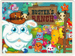 Moshi Monsters Postcard - Party Time Down at Buster's Ranch