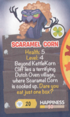 Scaramel Corn scan