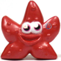 Fumble figure bauble red