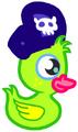 Moshling Theme Park Rubber Duck