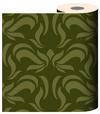 Green Swirl Wallpaper