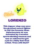 Lorenzo bio