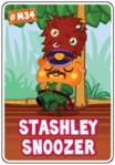 Collector card s7 stashley snoozer