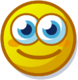 Profile mood happy