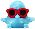 DJ Quack figure voodoo blue