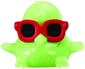 DJ Quack figure scream green